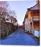 Streets Of Harpers Ferry Canvas Print