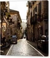 Streets Of Italy - Citta Sant Angelo 2 Canvas Print