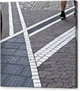Streets Of Mainz 1 Canvas Print