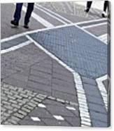 Streets Of Mainz 2 Canvas Print