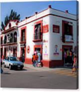 Streets Of Oaxaca Mexico 3 Canvas Print