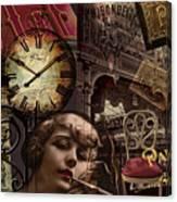 Streets Of Paris II Canvas Print