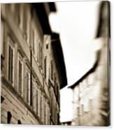 Streets Of Siena 2 Canvas Print