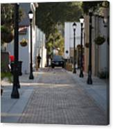 Streets Of St. Augustine Canvas Print
