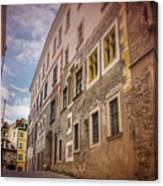 Streets Of Vienna Austria  Canvas Print