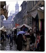 streetscene in Italy Canvas Print
