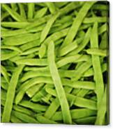 String Bean Heaven Canvas Print