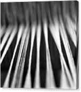 Strings In A Loom Canvas Print