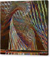 Stripe Amazement Bonding Canvas Print