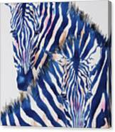 Striped Love Canvas Print