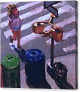 Stripes -- Crossing Broadway Canvas Print