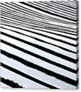Stripy Land Canvas Print
