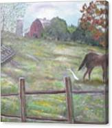Strobel Farm Canvas Print