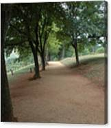 Stroll On Mulberry Row Monticello Canvas Print
