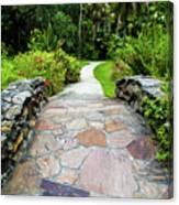 Strolling Through Paradise Canvas Print