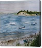 Strong Island Canvas Print