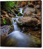 Strongs Canyon Cascades Canvas Print