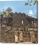 Structure Two In Calakmul Canvas Print