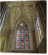 Structures Of St. Patrick Cathedral 3 Canvas Print