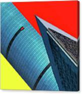 Structures Tilted Canvas Print