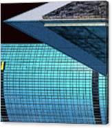 Structures West 3 Canvas Print