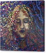 Struggle Of Blue Canvas Print
