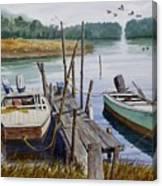 Stuart's Dock  Canvas Print