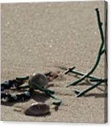 Stuck In The Sand Canvas Print