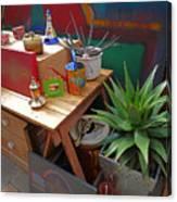 Studio Still 3 Canvas Print