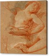 Study For Boreas Abducting Oreithyia Canvas Print