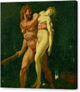 Study For Hercules And Alcestis Canvas Print
