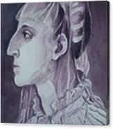 Study Of Laura Battiferri After Agnolo Bronzino C.1555 Canvas Print