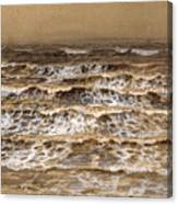 Study Of Waves Canvas Print