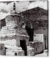 Stupa Canvas Print