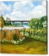 Sturgeon City Park Canvas Print