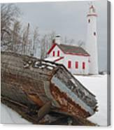 Sturgeon Point Lighthouse Canvas Print
