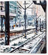 Stuttgart Main Station Canvas Print