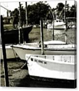 Styron Bay Harbor 2 Canvas Print