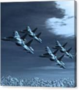 Su-35 Russia Canvas Print