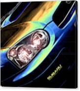 Subaru Impreza  Canvas Print