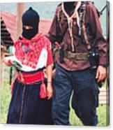 Subcommandante Marcos And Ramona Canvas Print
