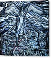 Subconscious Conflicting Battle Canvas Print
