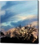 Subdued Sunset Canvas Print