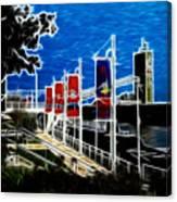 Submarine Uss Cobia Canvas Print