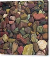 Submerged Lake Stones Canvas Print