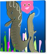 Submerged World Canvas Print