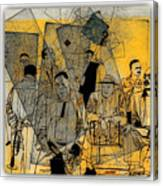 Submitted Cd Cover For The Band Bebop Complex 50's Jazz Revisited Canvas Print
