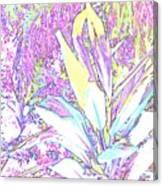 Subtle Leaf Canvas Print