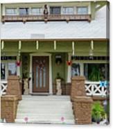 Suburban Arts And Crafts Style House Hayward California 15 Canvas Print