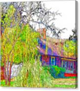 Suburban Home 3 Canvas Print